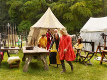 Medieval Camp Royalty Free Stock Photography