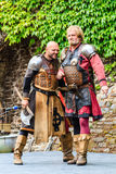 Medieval festival at Cochem Castle Royalty Free Stock Images