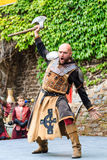 Medieval festival at Cochem Castle Stock Images