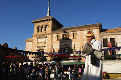 Medieval festival Consuegra.Spain Royalty Free Stock Images
