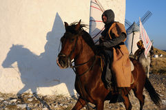 Medieval festival of Consuegra- Spain Royalty Free Stock Images