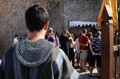 Medieval festival of Consuegra- Spain Stock Photo