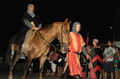 Medieval festival of Consuegra- Spain Royalty Free Stock Photo