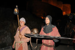 Medieval festival of Consuegra- Spain Stock Images