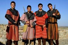 Medieval festival of Consuegra- Spain Stock Photos