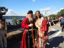 The 2013 Medieval Festival At Fort Tryon Park 94. The Medieval Festival brings to life the customs and spirit of the Middle Ages. Manhattan's Fort Tryon Park is Stock Photo
