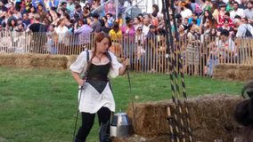 The 2014 Medieval Festival @ Fort Tryon Park NYC 163 Stock Photography