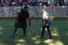 The 2015 Medieval Festival At Fort Tryon Park Part 3 3 Royalty Free Stock Photography