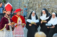 Medieval Festival Royalty Free Stock Photography