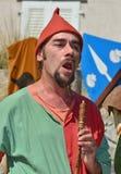 Medieval Festival Stock Photo