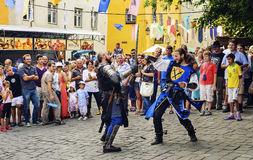 Medieval Festival of Sighisoara Royalty Free Stock Photography