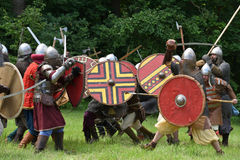 Medieval fights Festival Royalty Free Stock Photo