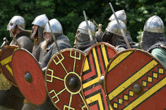 Medieval fights Festival Royalty Free Stock Image