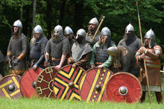 Medieval fights Festival Stock Image
