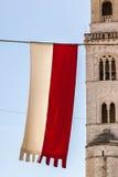 Medieval Flag Royalty Free Stock Photos