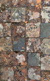 Medieval floor tile Royalty Free Stock Image