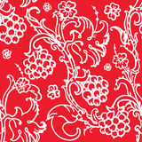 Medieval floral pattern Royalty Free Stock Photos