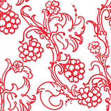 Medieval floral pattern Royalty Free Stock Images