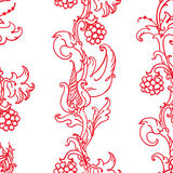 Medieval floral pattern Royalty Free Stock Photography