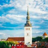Medieval Former St. Nicholas Church - Niguliste In Tallinn, Esto Stock Images
