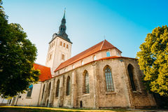 Medieval Former St. Nicholas Church In Tallinn, Estonia Royalty Free Stock Photography