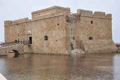 Medieval Fort of a city of Pathos. Cyprus (1592 Stock Photography