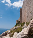 Medieval fort in Dubrovnik Stock Photography