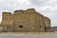 Medieval fort in Paphos on Cyprus Royalty Free Stock Image