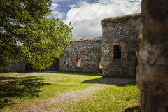 Medieval fort ruin Stock Photography