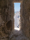 Medieval Fort Window Royalty Free Stock Photo