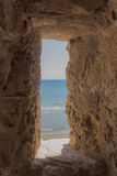 Medieval Fort Window Royalty Free Stock Images