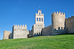 Medieval fortification Royalty Free Stock Photo
