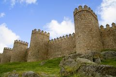 Medieval Fortification Stock Photography