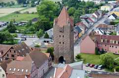 Medieval fortification Dammtor at Barth Royalty Free Stock Photo