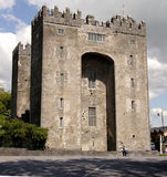 Medieval Fortification in Ireland Royalty Free Stock Photos