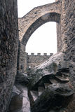 Medieval fortification Stock Photo