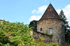Medieval fortification tower, Zagreb, Croatia Stock Images
