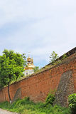 Medieval fortification walls Muri, Vinnytsia, Ukraine Royalty Free Stock Photo