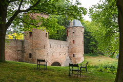 Medieval fortifications of Amersfoort Stock Photos