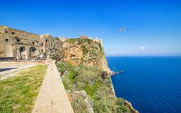 Free Medieval Fortifications In Terra Murata, Procida, Italy Stock Photography - 120215572