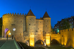 Medieval fortifications Royalty Free Stock Photography