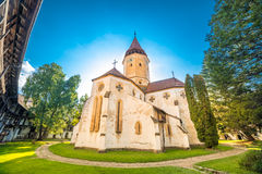 Medieval fortified church Harman Royalty Free Stock Images
