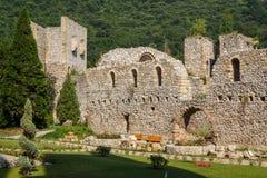Medieval fortified Manasija monastery. Serbia Royalty Free Stock Photos