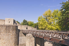 Medieval fortress Stock Photo