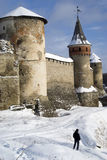 The medieval fortress Royalty Free Stock Photo