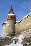 The medieval fortress Royalty Free Stock Photos