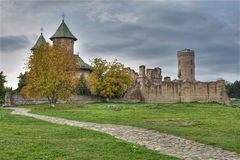 Medieval fortress. Of Targoviste city - Romania Royalty Free Stock Images