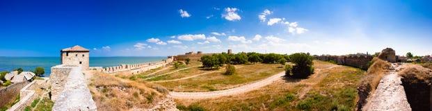 Medieval Fortress Akkerman Belgorod-Dniester Stock Photos
