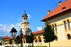 Medieval fortress of Alba Iulia, Transylvania Royalty Free Stock Images