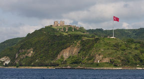 Medieval fortress at the Bosphorus Stock Image